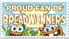 Stamp: Proud Breadwinners Fan by Coonfoot