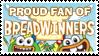 Stamp: Proud Breadwinners Fan by RaccoonFoot