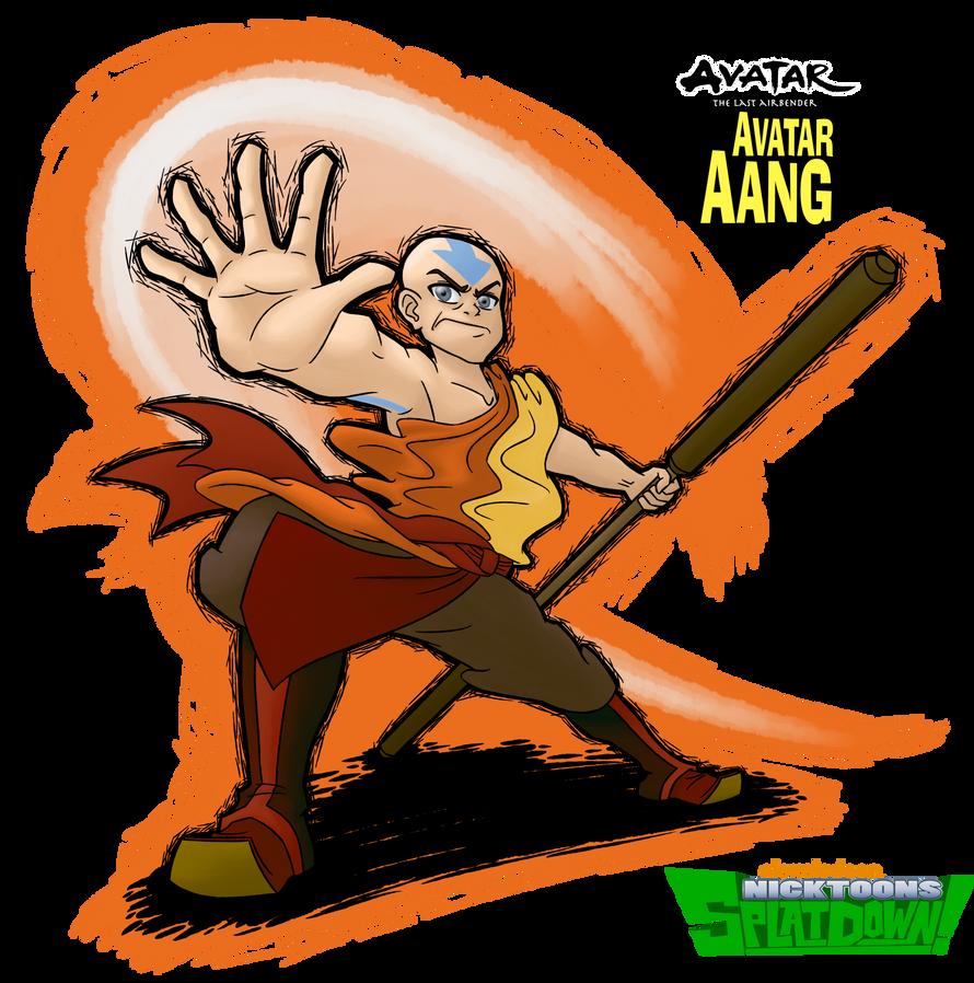 Avatar Aang: SplatDown Fighter: Avatar Aang By Coonfoot On DeviantArt