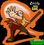 SplatDown Fighter: Avatar Aang