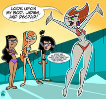 Swimsuit Art Jam: Spectra Shows Off