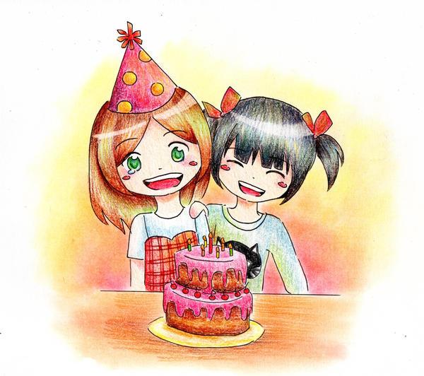 Happy Birthday~ by DreaAimee