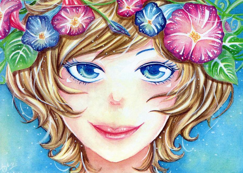 Flower girl by DreaAimee