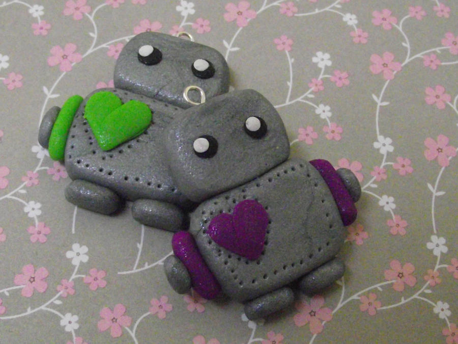 Clay Robots by funkypinkgal