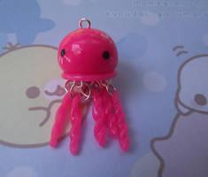 Clay Jellyfish Charm