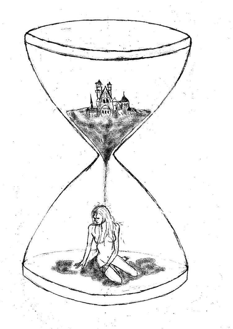 Hourglass and sandcastle by Shelleyn on DeviantArt
