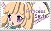 Princess Sayla Stamp by Robotmonkeygirl91
