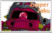 Zapper Zaku Stamp by Robotmonkeygirl91