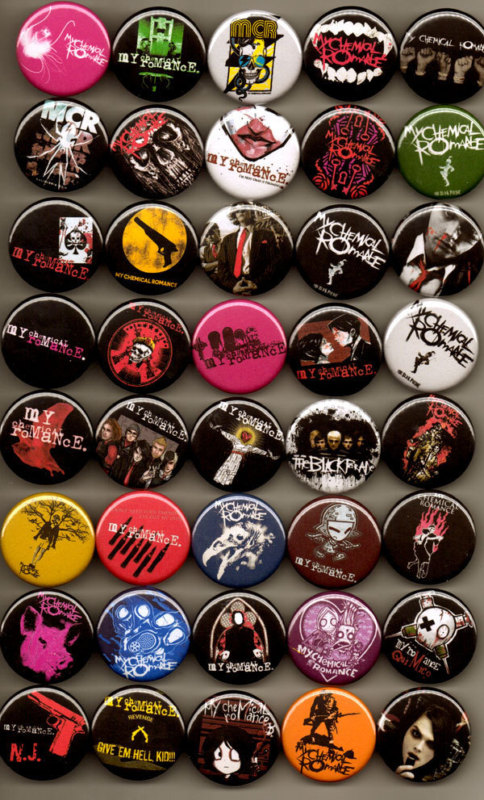MCR PINS by Noel1993
