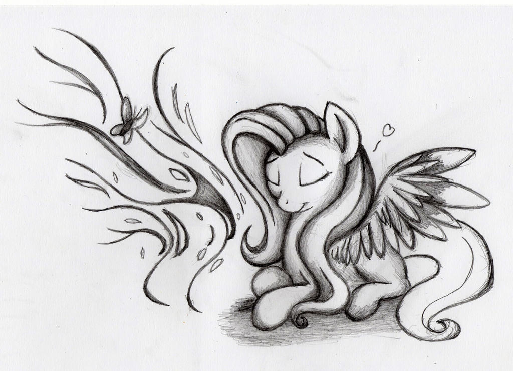 Fluttershy drewm by otto720