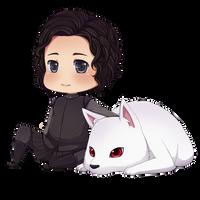 Jon Snow by ichan-again