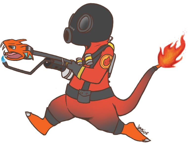 Pyromander by AdmiralAlibi