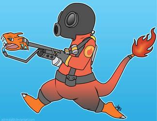Pyromander Update: Blu by AdmiralAlibi