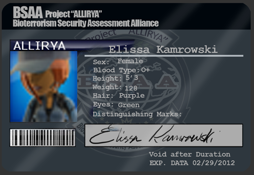 Deviant BSAA ID by Alliriya