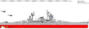 Fuji-class Heavy Cruiser (1951)
