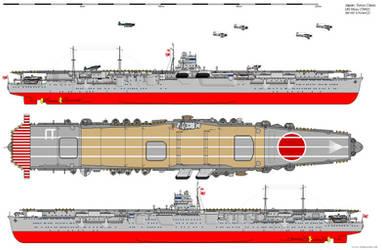 Soryu-class Aircraft Carrier (1942) by ijnfleetadmiral
