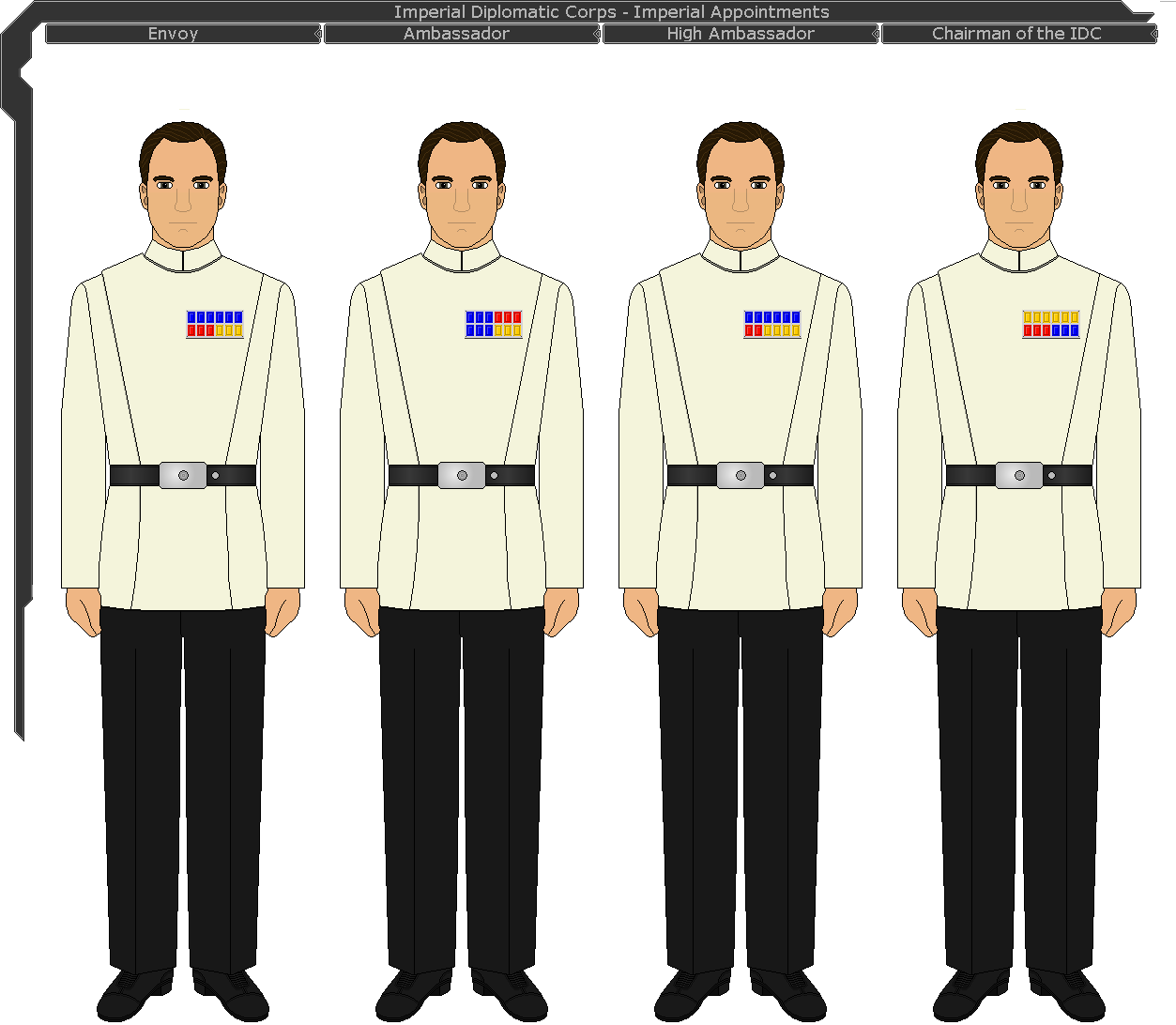 Imperial diplomatic corps 03 by ijnfleetadmiral on for Bureau uniform