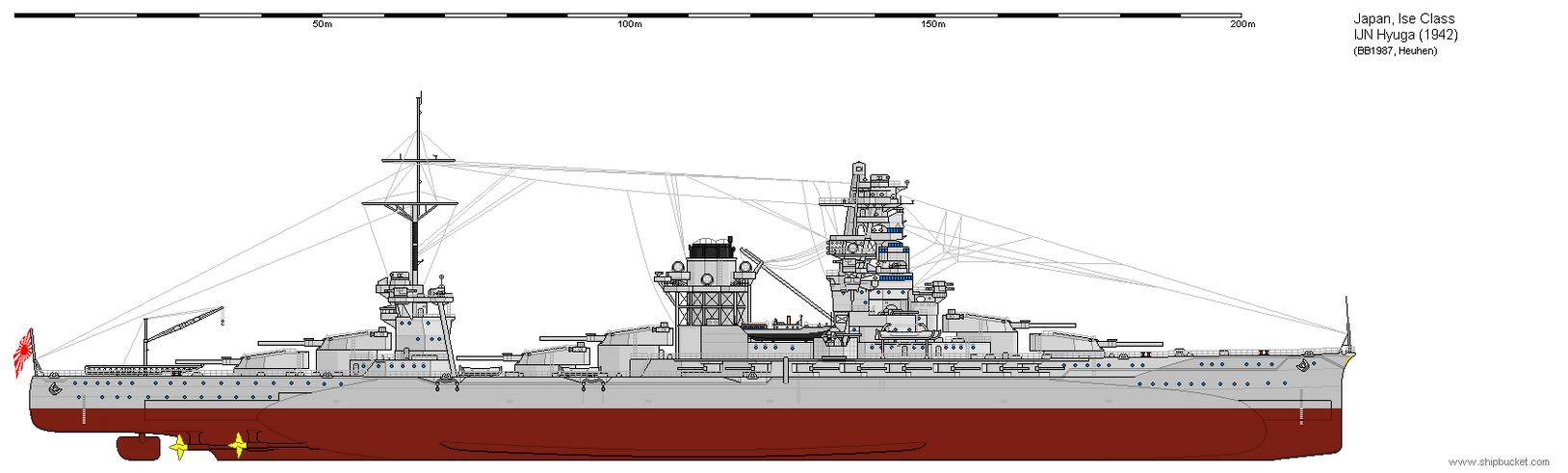 Resultado de imagen para ise class battleship