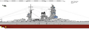 Yoshino-class Battleship (1946)
