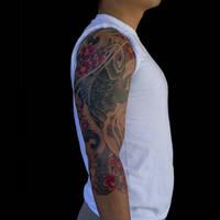 Three Quarter Koi Tattoo