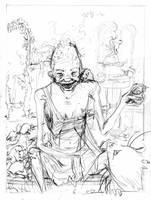 Tamora Pierce's Graveyard Hag by Razriel