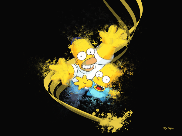 Simpsons Funny Wall by Jim971