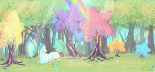 Rainbow Brite tribute by AngryPotato