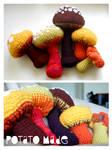 Potato Made - Crochet Mushrooms