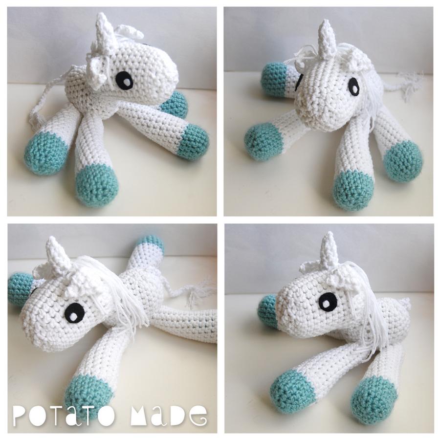 Free Amigurumi Crochet Patterns Unicorn : Potato Made - Amigurumi Unicorn by AngryPotato on DeviantArt