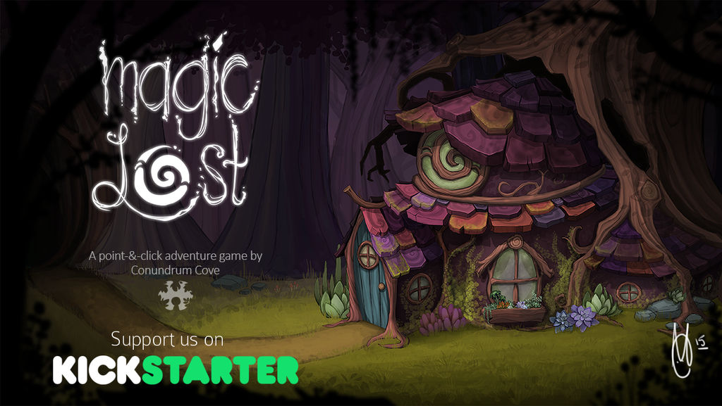 Magic Lost - Now on Kickstarter! by AngryPotato
