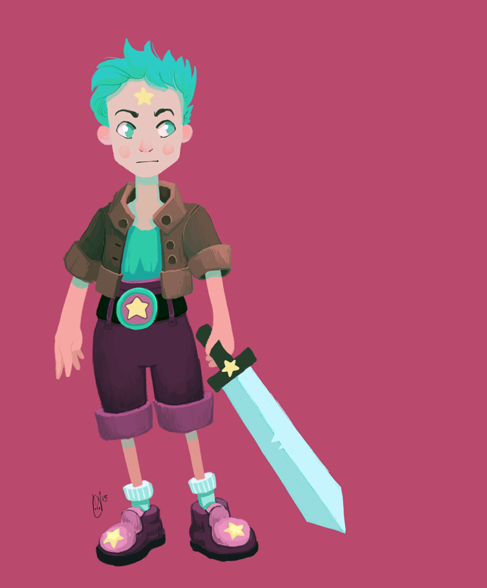 Sword Boy by AngryPotato