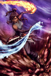 Avatar Korra by SunPulse
