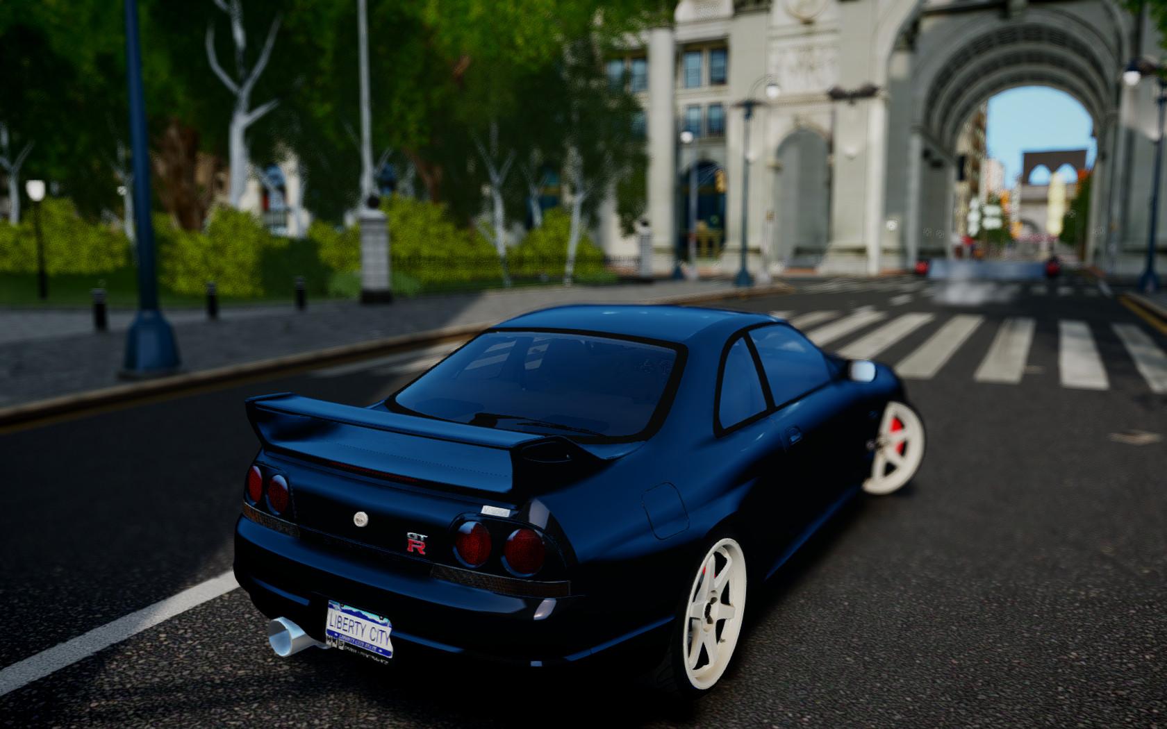 Nissan Skyline R33 GTR VSpec by CreaT1Ve11 on DeviantArt