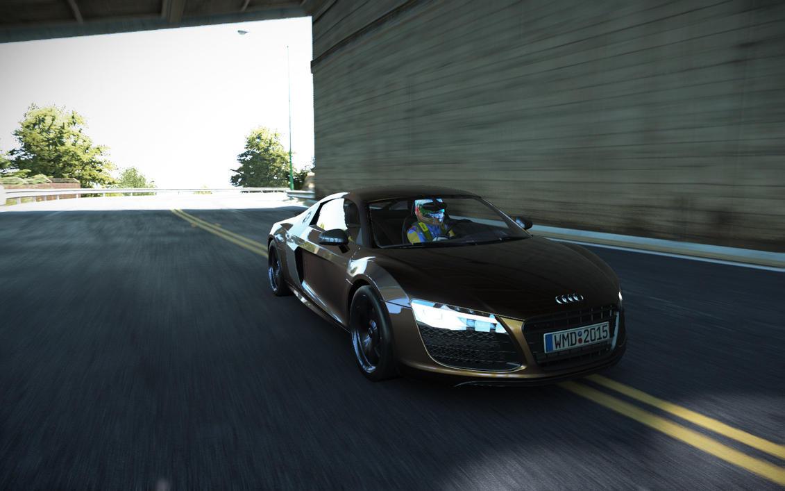 Audi R8 V10 Plus by CreaT1Ve11