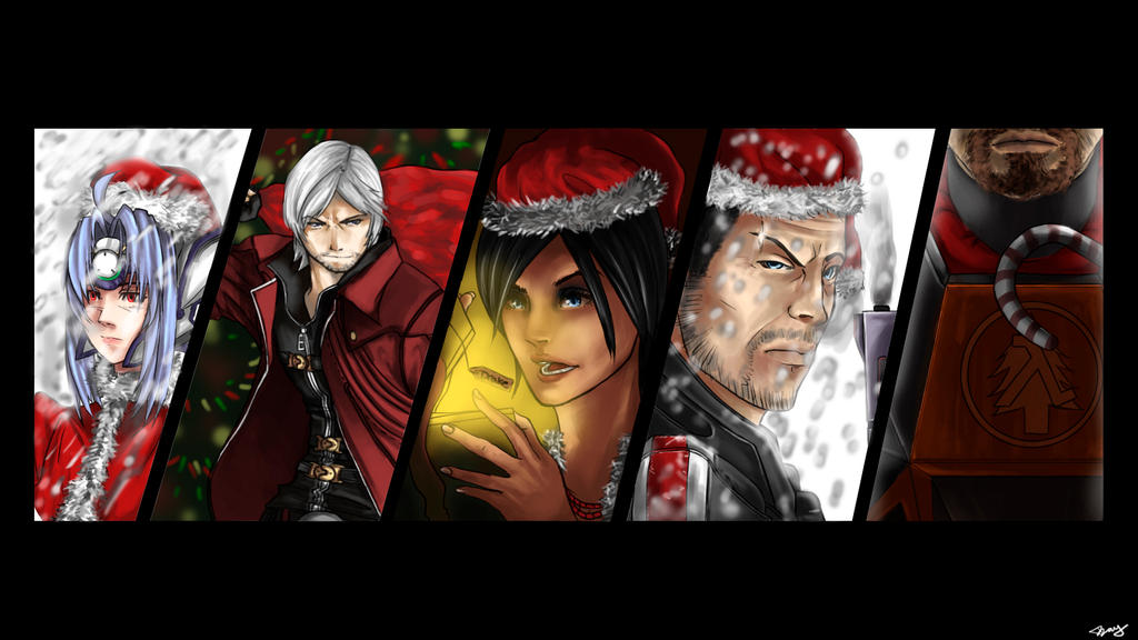 A Gaming Christmas. by Springs on DeviantArt
