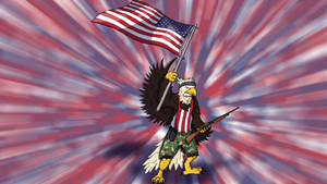 American Patriot George - Widescreen Edit
