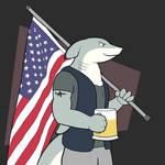 Bud with Flag
