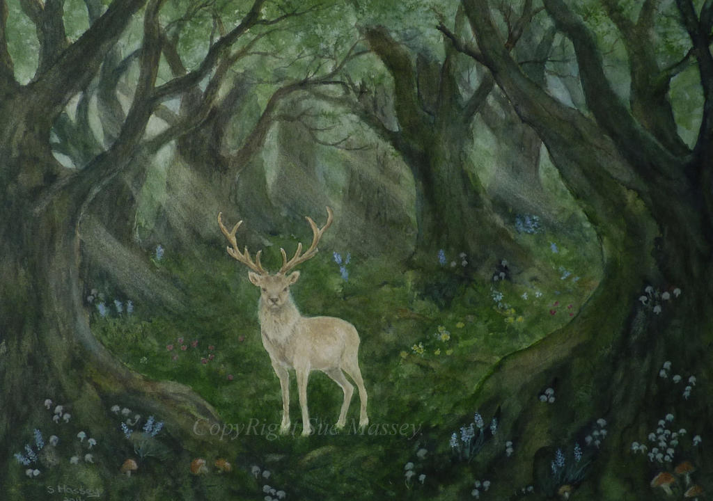 The White Stag. by SueMArt