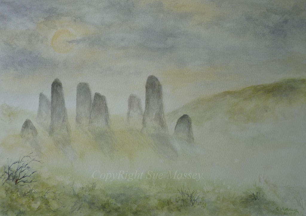 Stones in the Mist. by SueMArt