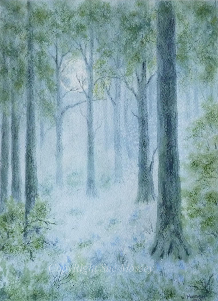 The Blue Forest. by SueMArt