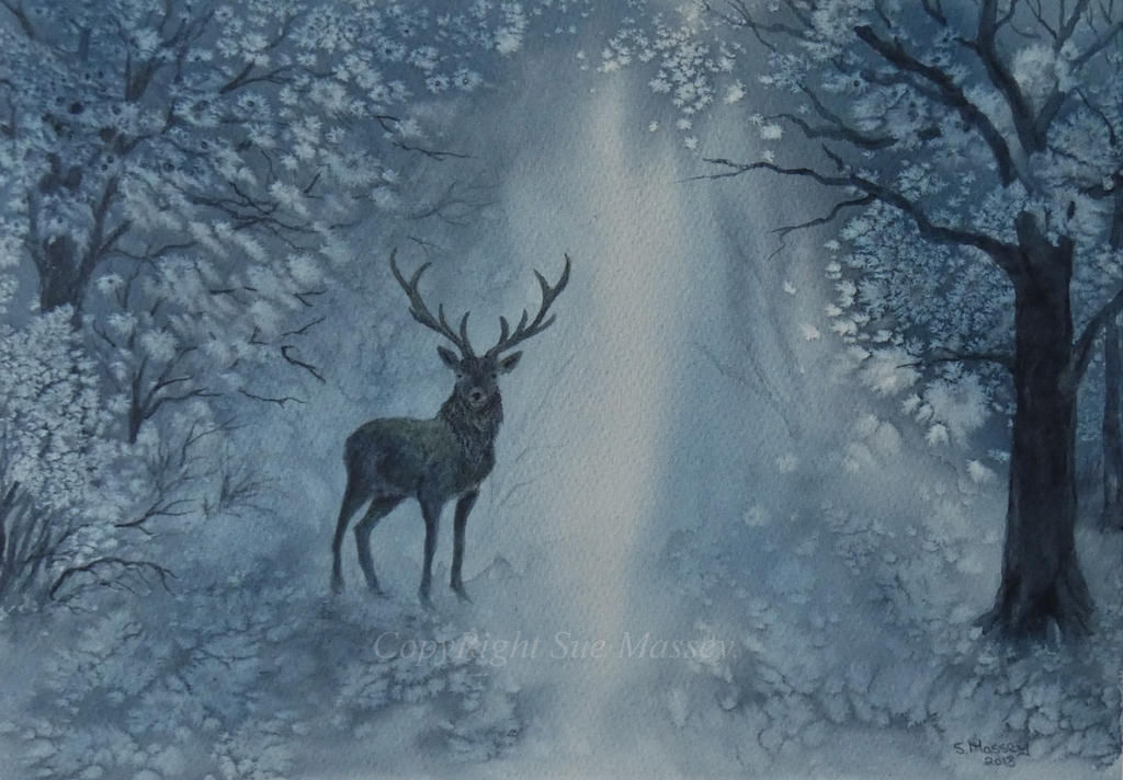 The Noble Stag. by SueMArt