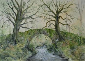 The Old Stone Bridge. by SueMArt