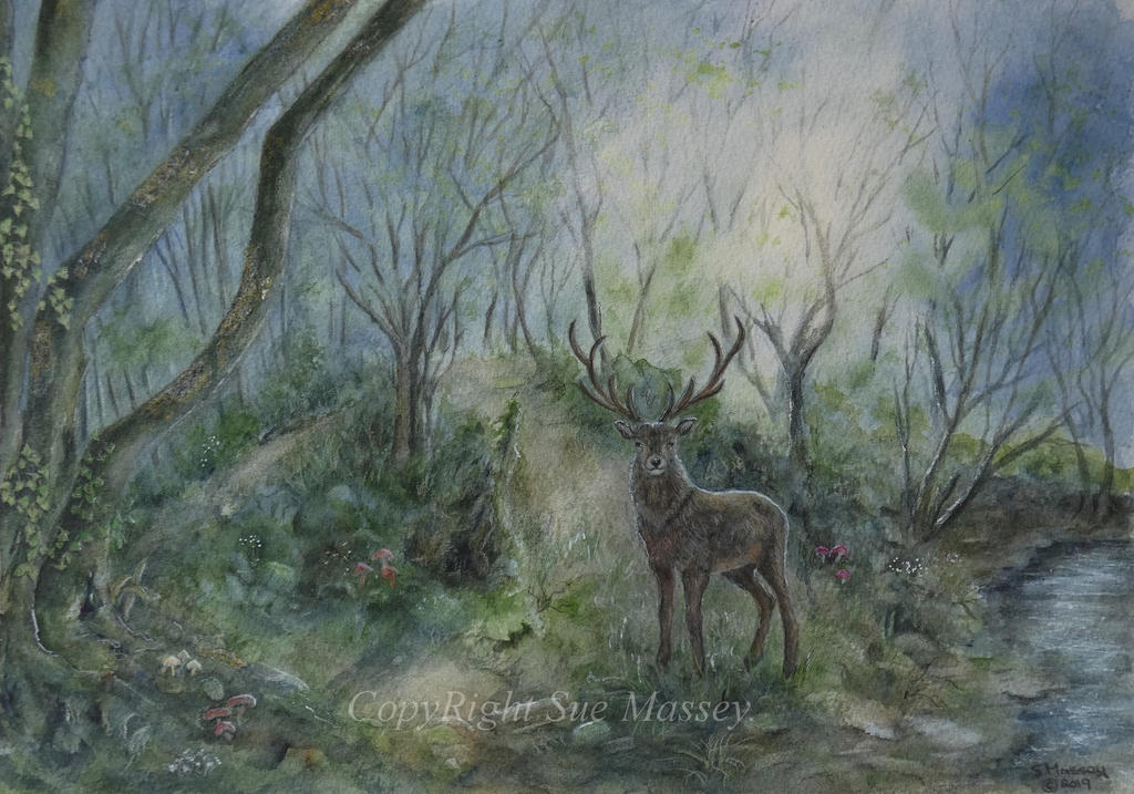 The Glorious Stag. by SueMArt