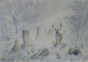 The Stag and the Standing Stones.