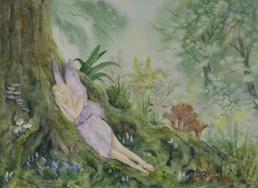 The Sleeping Fairy. by SueMArt
