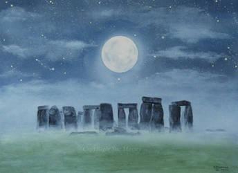 Stonehenge. by SueMArt