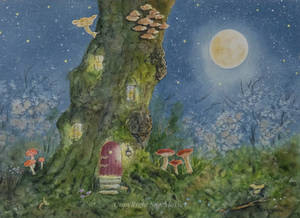 Moonlit Tree House