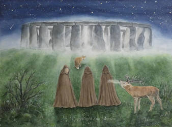 Winter Solstice Family of Five