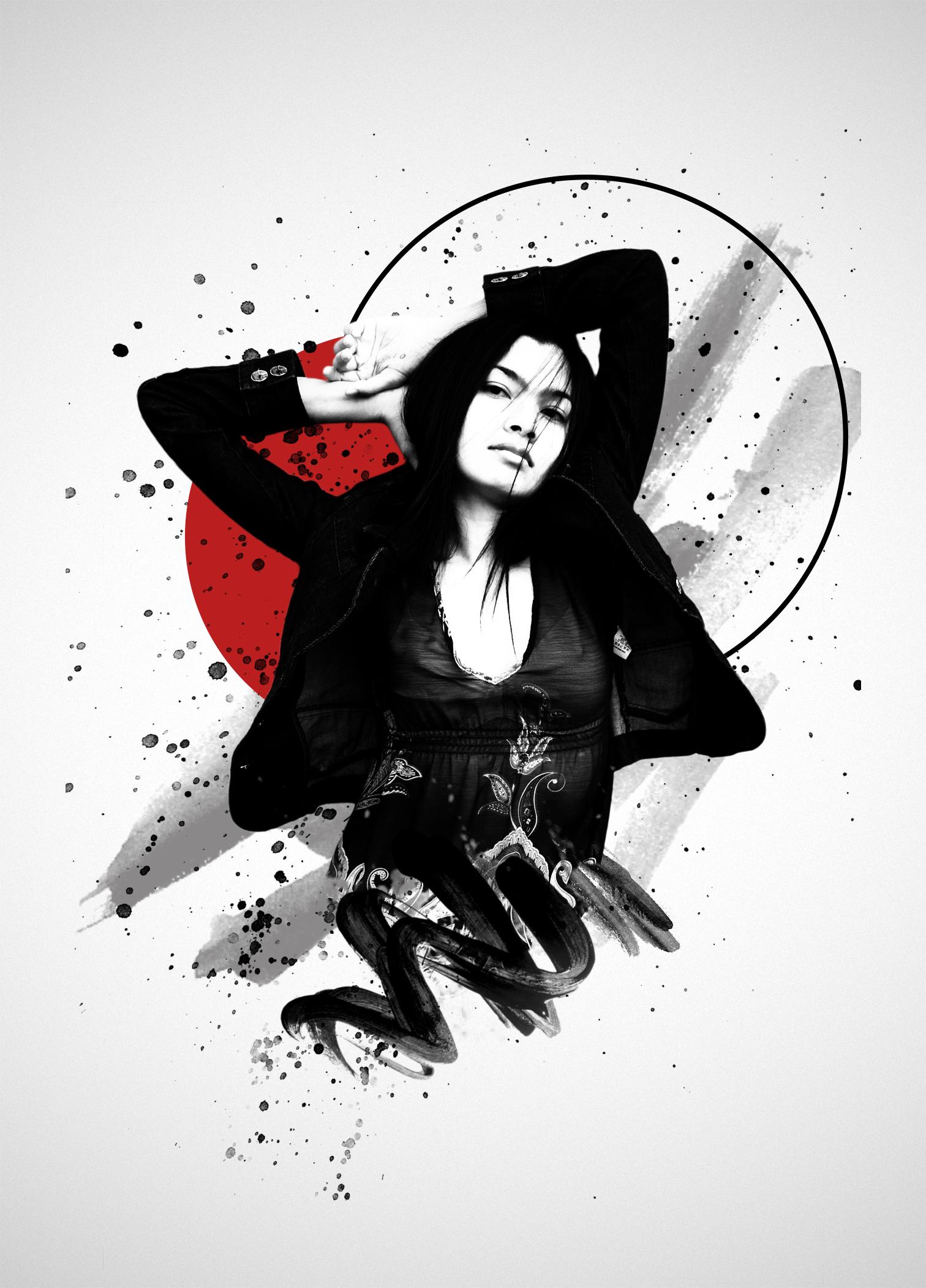 Decompose splatter portrait by fantasmadesign