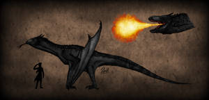 Northern Black Drake by TheJuras
